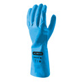 Skytec I-CON Frisco Blue Nitrile Gauntlet Small