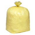 Yellow Plastic Sack
