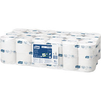 Tork Coreless Mid-Size Toilet Tissue Roll 1300 Sheet Case 36