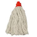 CleanWorks Twine Socket Mop Red No 12 Pack 10