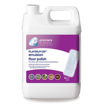 Premiere Platinum 25% Floor Polish 5 Litre Case 2