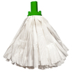 CleanWorks EX Non Woven Socket Mop Green 120G Pack 10