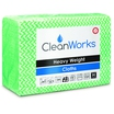 CleanWorks Heavy Weight Hygiene Cloth Green