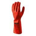 Skytec I-CON Tulsa Red Nitrile Gauntlet Small