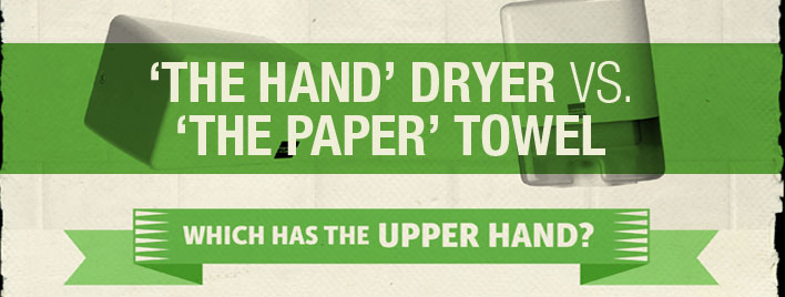 The Hand Dryer vs The Paper Towel