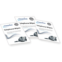 Cleanline Telephone Wipes