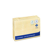 Chicopee J Cloth Plus Biodegradable Yellow Pack 50