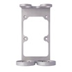Pasture Aluminium Double Wall Mounted Holder