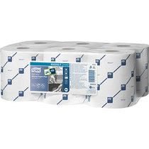 Tork Reflex Wiping Paper Plus 2Ply White Case 6