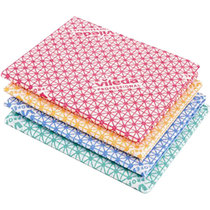 Vileda Medium Weight Cloth Red Pack 10