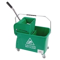 CleanWorks MicroClean 20L Bucket & Wringer Green