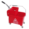 CleanWorks MicroClean 20L Bucket & Wringer Red