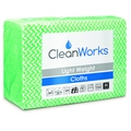 CleanWorks Light Weight Hygiene Cloth Green