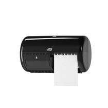Tork Twin Toilet Roll Dispenser Black