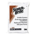 3M Scotch-Brite Replacement No.200 Griddle Screens Pack 20