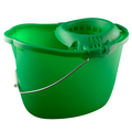 CleanWorks Plastic Mop Bucket Green