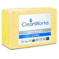 CleanWorks Light Weight Hygiene Cloth Yellow