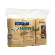 8394 Wypall Microfibre Cloth Yellow Pack 6
