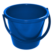 Cleanworks Plastic Bucket Blue Buckets Janitorial Bchs