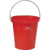 Vikan Hygiene Bucket Red