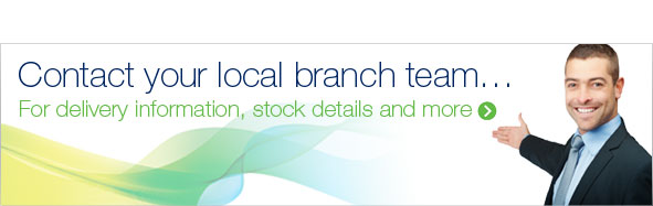 Contact your local branch for stock and delivery information.