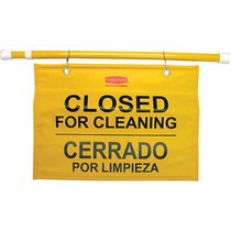 Rubbermaid Hanging Closed For Cleaning Sign