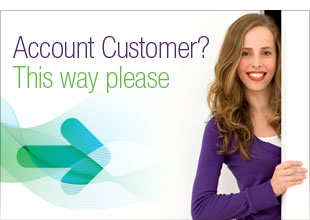 Account Customer? Please Sign In