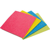 Vileda Sponge Cloth Green Pack 5